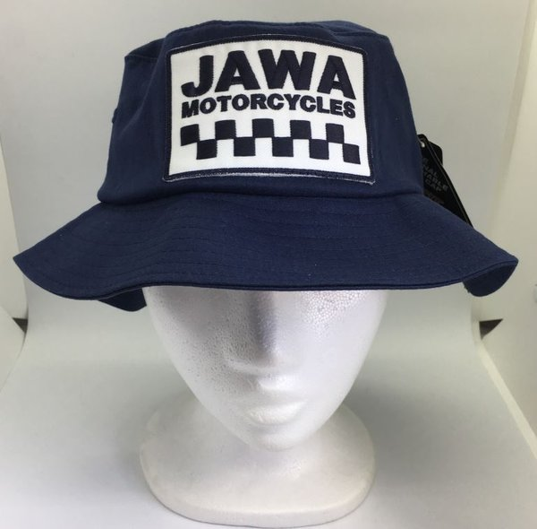 JAWA Cotton Twill Bucket Hat - NAVY