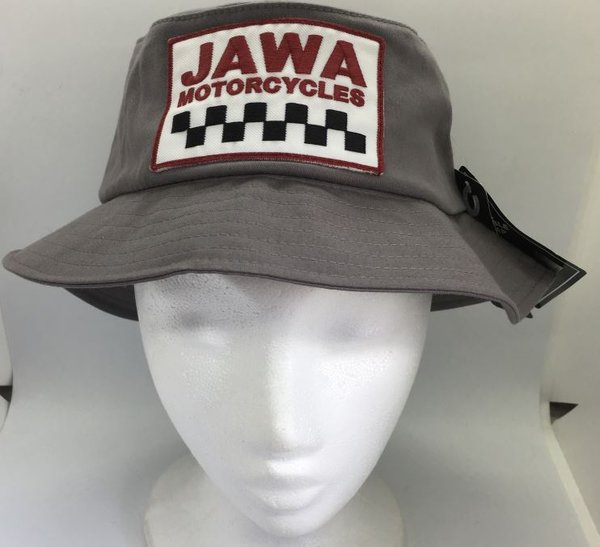 JAWA Cotton Twill Bucket Hat - GREY